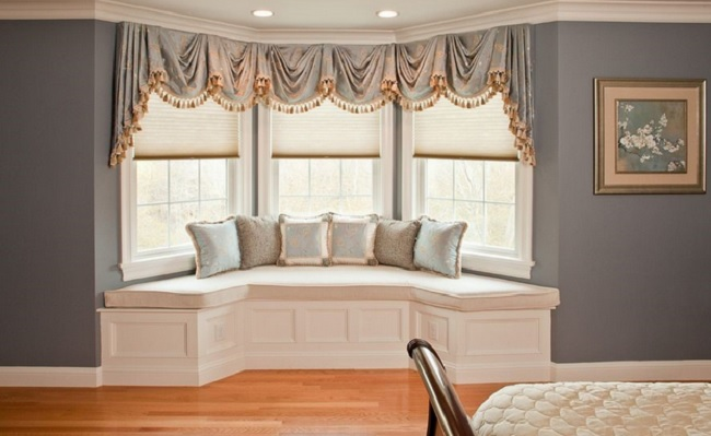 Design Your Home With Bay Window Seat Cushions